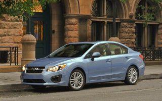 Российский рынок покидает Subaru Impreza