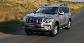 Toyota пообещала неподнимать цены наLCPrado вРоссии доНового года
