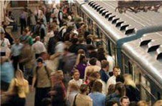 На «синей ветке» петербургского метро произошел сбой