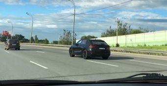 Внедорожное купе Audi Q8 испытывается в России