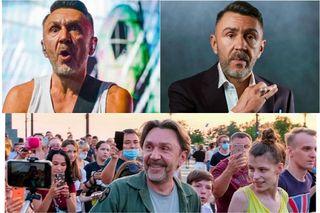 Сергей Шнуров насцене ивжизни. Источник: Яндекс