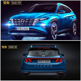 Hyundai Tucson 2021 года, источник: AtchaCars