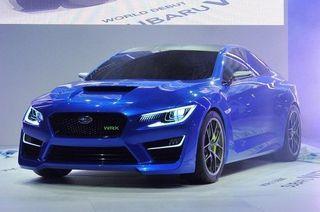 Известна цена на новое поколение Subaru WRX STI