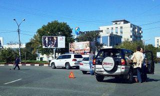 Во Владивостоке тройное ДТП парализовало движение