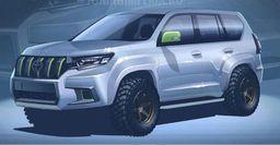 Внедорожный обвес для Toyota Land Cruiser Prado готовят российские тюнеры