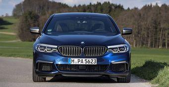 Новый седан BMW M5 получит технологию Mxdrive