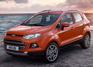 Ford озвучила стоимость кроссовера EcoSport для России