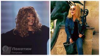 Фото: Алла Борисовна после смены имиджа. До - слева, после - справа. Автор «Покатим» Ольга Белоусова