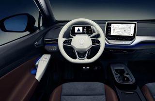 Интерьер ID.4 соответствует его цене, окоторой ниже потексту. Фото: Volkswagen