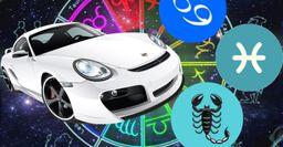 Цвета машин, которые подходят Ракам, Скорпионам и Рыбам – мнение астролога