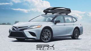 Toyota Camry Station Wagon 2020, скриншот с Youtube-канала SRK Designs