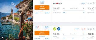 Первые рейсы как прямые, так и с пересадками по стране. Кадры: Instagram и Aviasales