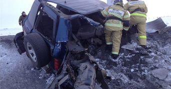 Два пассажира погибли в ДТП с пьяным водителем под Норильском