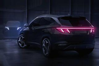 Фото: новый Hyundai Tuscon— вид сзади, источник: Hyundai
