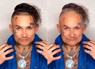 Как может выглядеть Алишер Моргенштерн в60 лет / Фото: pokatim.ru