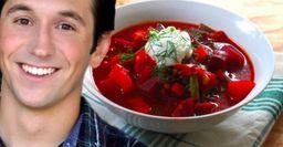 «Это идеальная пища»: Американец попробовал борщ и поделился впечатлениями