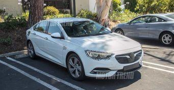 В сети появились шпионские фото обновлённого Buick Regal GS