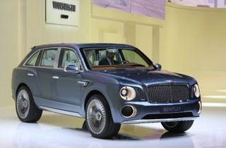 В 2016 году появится первый внедорожник от Bentley