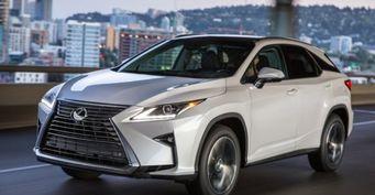 Lexus планирует провести презентацию в Чикаго своего кроссовера RX