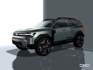 Dacia Bigster. Источник: Dacia