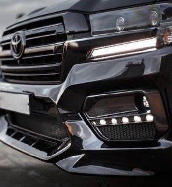 Если окраски в глянец недостаточно: Представлен «заряженный» Toyota Land Cruiser 200 в обвесе Warrior