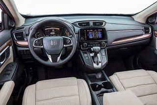 Фото: Салон Honda CR-V 2020, источник: Honda