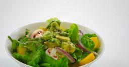 Грибная закуска с авокадо на скорую руку