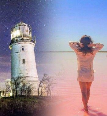От маяка до розового озера: Где в Керчи сделать яркие кадры