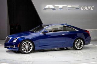 Купе Cadillac ATS представлена для европейского рынка