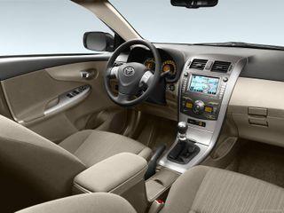 Фото: Салон Toyota Сorolla 10, источник: Toyota