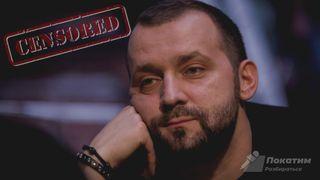Цензура Руслана Белого на ТНТ // Коллаж: автор «Покатим.ру» Владимир Зайцев