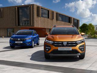Dacia Sandero и Sandero Stepway нового поколения, источник: Dacia