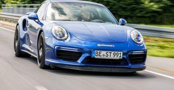 Немецкому купе Porsche 911 Turbo S удалось разогнаться до 344 км/ч