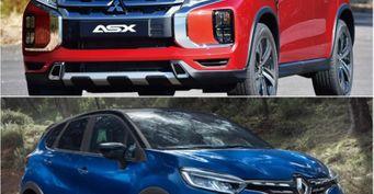 Renault Kaptur vs Mitsubishi ASX: Две модели одного альянса сравнили по 5 параметрам