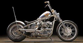 Байк Harley-Davidson Indian Larry Panhead The Machine выставлен на продажу