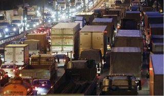 Новые штрафы для водителей грузовиков от московских властей
