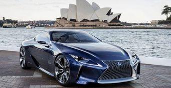 Новое купе Lexus LC500 получит покрышки Bridgestone