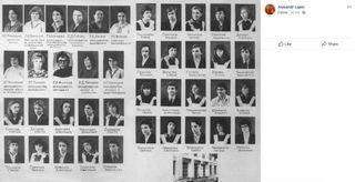 Альбом выпускников класса Андреевой
