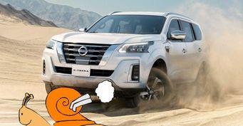 «Динамика Камаза-арбузовоза»: Возрождённый Nissan X-Terra смутил автолюбителей «дохлым» мотором