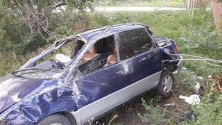 В Приморье автомобилистка рискнула своей семьёй ради обгона машины