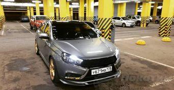 Две тысячи рублей— иLADA Vesta засияла: О«гаражной» защите кузова китайской керамикой рассказал водитель