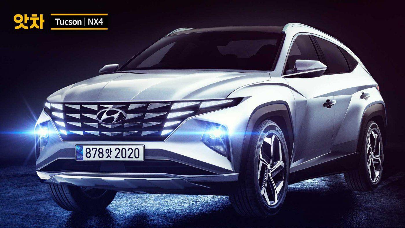 Hyundai Tucson 2021: Показан независимый рендер