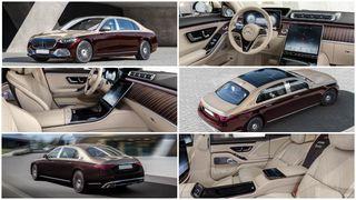 Интерьер иэкстерьер роскошного Mercedes-Benz S-Class Maybach. Источник: Mercedes-Benz