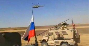 В Сирии произошло столкновение военной бронетехники США и России