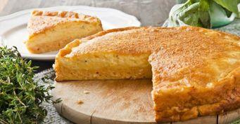Готовим сладкий пирог изйогурта: Без «заморочек» стестом