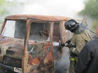 Архангельской области в сгоревшем авто обнаружили трупы двух мужчин