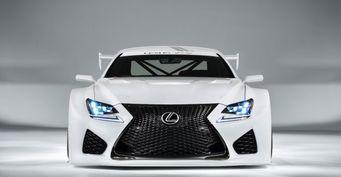 В Женеве будет представлен спорткар Lexus RC F GT3