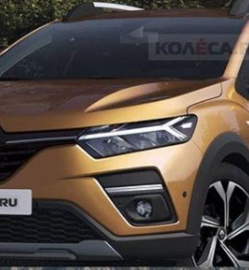 Arkana на«минималках»: Новый Renault Sandero Stepway показан нарендерах