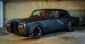 Раритетный Rolls-Royce Silver Shadow II для дрифта выставлен на продажу