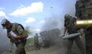 СМИ: В Иловайске продолжаются уличные бои между ополченцами ДНР и украинскими силовиками